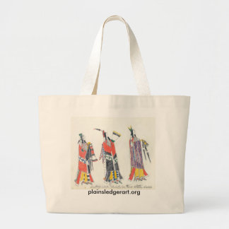 Koba: Distinguished chiefs in their state dress Large Tote Bag