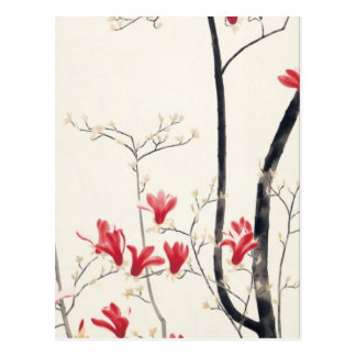 Kobayashi Kokei - Magnolia Tree Postcard