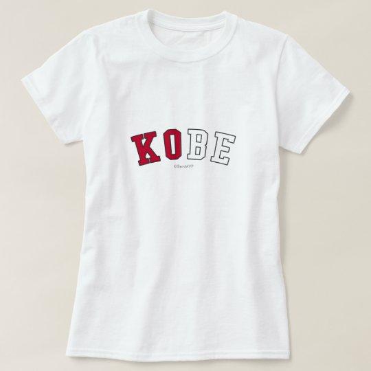 Kobe in Japan national flag colours T-Shirt