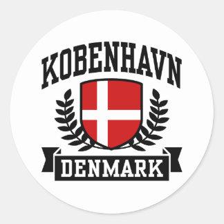 Kobenhavn Classic Round Sticker