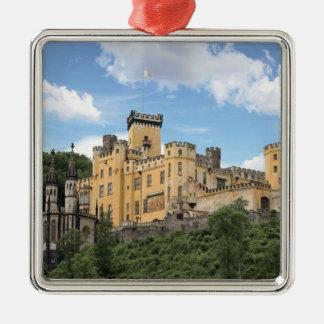Koblenz, Germany, Stolzenfels Castle, Schloss Christmas Ornament