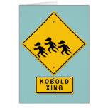 Kobold XING Greeting Card