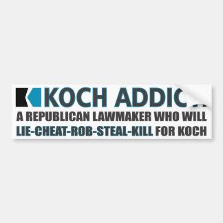 Koch Addict Defined Bumper Sticker
