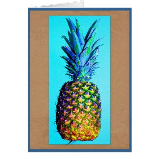 Kodachrome pineapple card