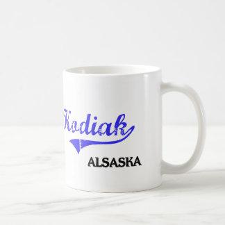 Kodiak Alaska City Classic Basic White Mug