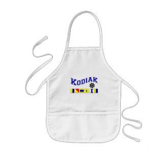 Kodiak, Alaska Kids Apron