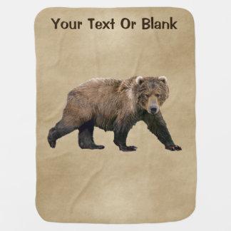 Kodiak Bear Buggy Blanket