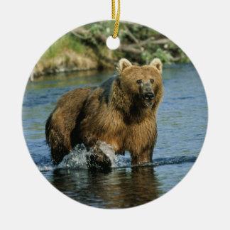 Kodiak Bear Christmas Ornament
