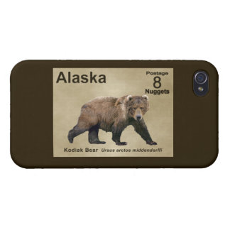 Kodiak Bear iPhone 4 Case