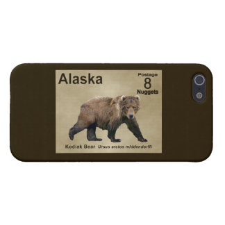 Kodiak Bear iPhone 5 Cases