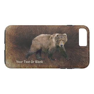 Kodiak Bear On Caribou Fur iPhone 7 Plus Case