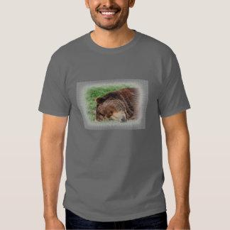 Kodiak Bear Sleeping Men's Shirt