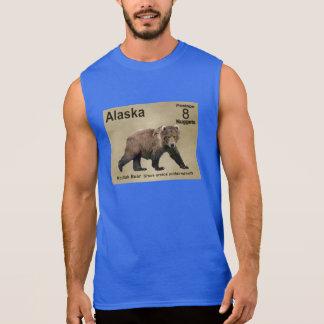 Kodiak Bear Sleeveless T-shirt