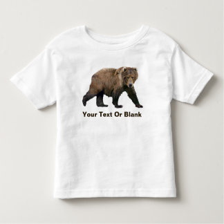 Kodiak Bear Toddler T-Shirt