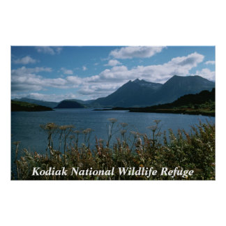 Kodiak National Wildlife Refuge Poster