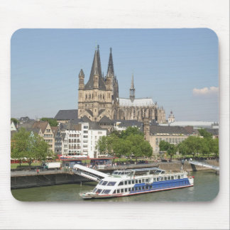 Koeln (Cologne) in Germany Mouse Pad
