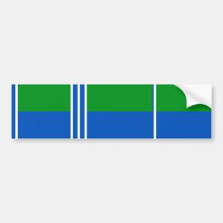 Kogalym, Russia flag Bumper Stickers