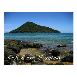 Koh Rong Samlon Postcard