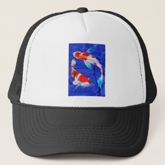 Kohaku Duo in Deep Blue Pond Trucker Hat
