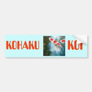 Kohaku Koi Bumper Sticker