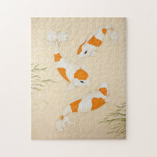 Koi Jigsaw Puzzles | Zazzle.co.uk