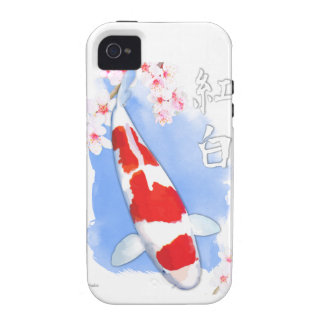 Kohaku Koi Vibe iPhone 4 Cover