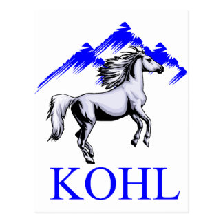 Kohl Colt Logo_Color and Text Postcard