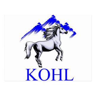 Kohl Colt Logo_Color and Text Postcard