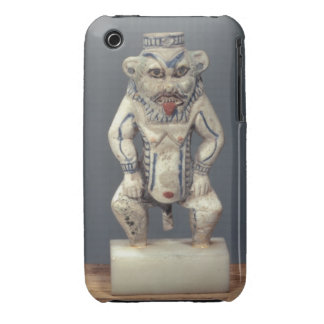 Kohl Pot depicting the Egyptian household god Bes iPhone 3 Case-Mate Cases