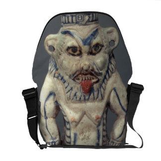 Kohl Pot, depicting the Egyptian household god Bes Commuter Bag