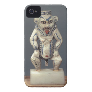 Kohl Pot, depicting the Egyptian household god Bes iPhone 4 Case-Mate Cases