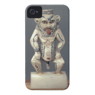 Kohl Pot, depicting the Egyptian household god Bes iPhone 4 Cases