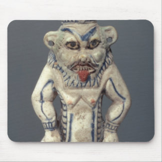 Kohl Pot, depicting the Egyptian household god Bes Mouse Pad