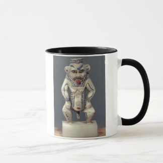 Kohl Pot, depicting the Egyptian household god Bes Mug