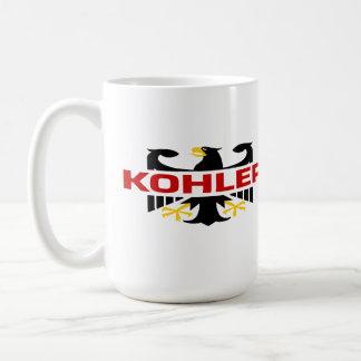 Kohler Surname Basic White Mug