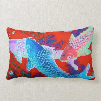 Koi Accent Pillow