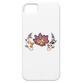 KOI AND LOTUS APPLIQUE iPhone 5 COVERS