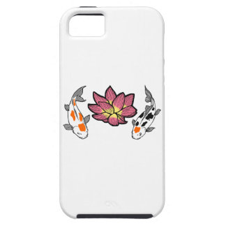KOI AND LOTUS APPLIQUE iPhone 5 COVER