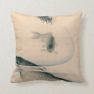Koi and Pine Branch 1790 Cushion