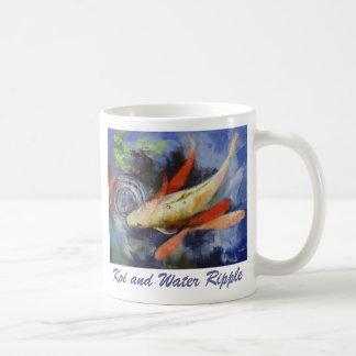 Koi and Water Ripple Mug