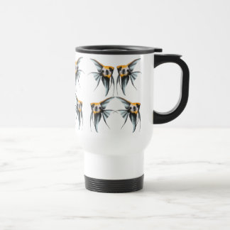 Koi Angelfish Travel Mug