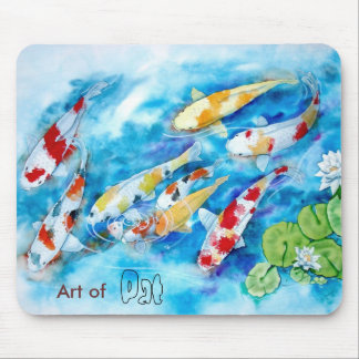 KOI, Art of Pat Mouse Mat