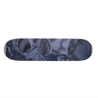 Koi (Blue) Skate Board Deck