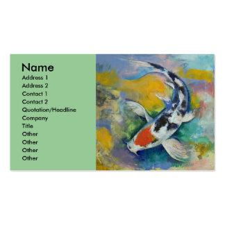 Koi Business Card