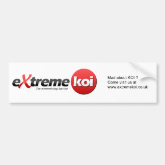 Koi Car Sticker Bumper Sticker