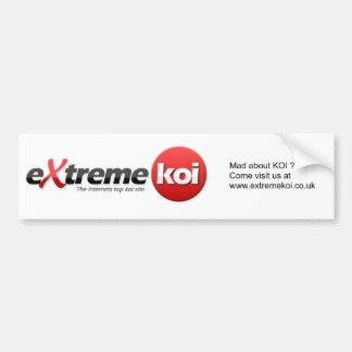 Koi Car Sticker Bumper Sticker