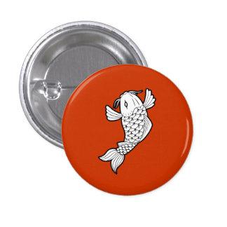 Koi / Carp 鯉 Pictogram Button