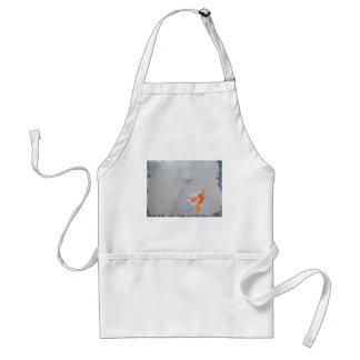 Koi carp in pond standard apron