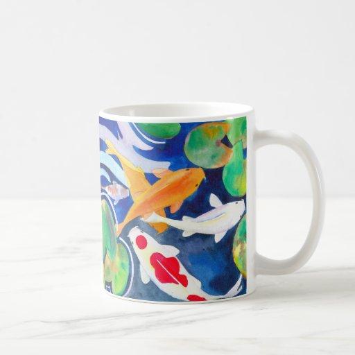 Koi Carp it Coffee Mugs