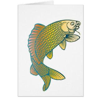 Koi Carp Japanese Fish Greeting Cards